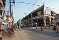 Bus Terminus With Shopping Complex under Construction - Amta Road - West Bengal State Highway 15 - Domjur - Howrah 2014-04-14 0553-0555.JPG