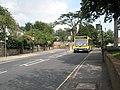 Bus in Thoroughfare - geograph.org.uk - 2182856.jpg