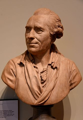 Michel-Jean Sedaine - Bust of Michel-Jean Sedaine, 1775 CE. From Paris, France. By Augustin Pajou. The Victoria and Albert Museum, London