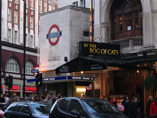 By The Bog of Cats... at Wyndhams Theatre, Charing Cross, London