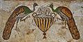 Byzantine church in Nahariya - Peacocks Mosaic.jpg