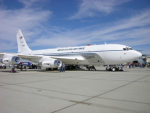 Boeing C-135 Stratolifter - The C-135C Speckled Trout at Edwards Air Force Base