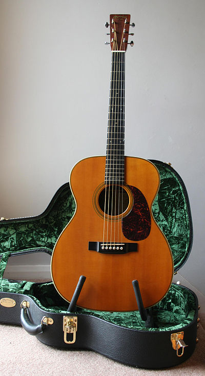Clapton used a guitar for the recording and music video. C.F. Martin 000-28EC Eric Clapton model Acoustic Guitar.jpg