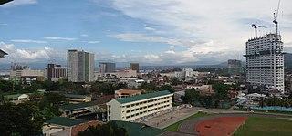Metro Cagayan de Oro Metropolitan Area in Northern Mindanao, Philippines