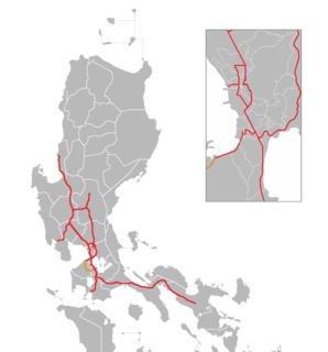 Cavite–Laguna Expressway Expressway in the Philippines
