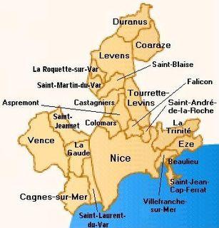 Urban community of Nice Côte dAzur Former communauté urbaine in Provence-Alpes-Côte dAzur, France
