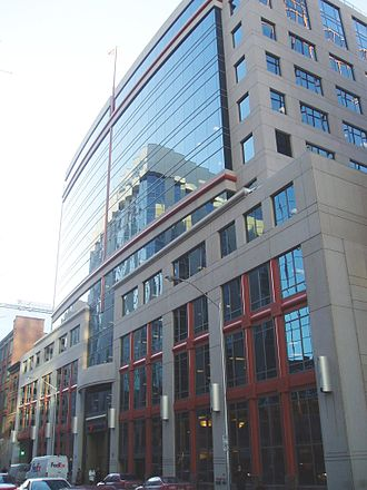 Canadian Broadcasting Corporation - CBC's headquarters, in Ottawa