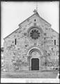 CH-NB - Grandson, Eglise réformée Saint-Jean-Baptiste, vue partielle extérieure - Collection Max van Berchem - EAD-7262.tif