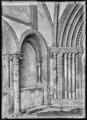 CH-NB - Romainmôtier, Abbatiale, Porche, vue partielle intérieure - Collection Max van Berchem - EAD-7488.tif