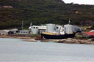 Whaling in Western Australia - Cheynes Beach Whaling Station