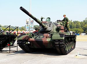 CM-12 Tank in ROCA Infantry School 20120211a.JPG