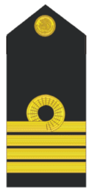 Naval ranks and insignia of Mexico - Image: CN2