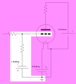 C Battery circuit of a Triode vacuum tube.png