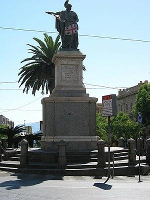 Cagliari - Statua Carlo Felice