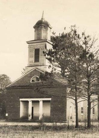 Cahaba, Alabama - Image: Cahaba Methodist Church