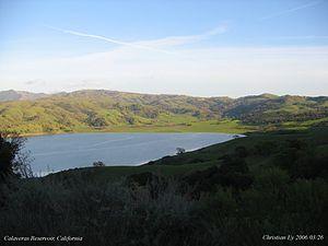 Calaveras Reservoir - Calaveras Reservoir in Spring 2006