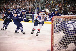 Farm team - American Hockey League teams are affiliated with a National Hockey League franchise, acting as their farm teams.