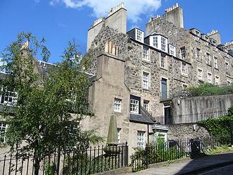 Agnes Maclehose - Georgian houses, Calton Hill, Edinburgh.