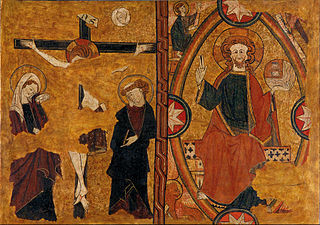 Calvary and Christ in Majesty