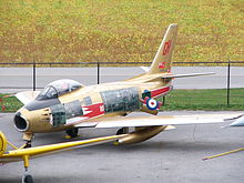 List Of Surviving North American F 86 Sabres Wikipedia