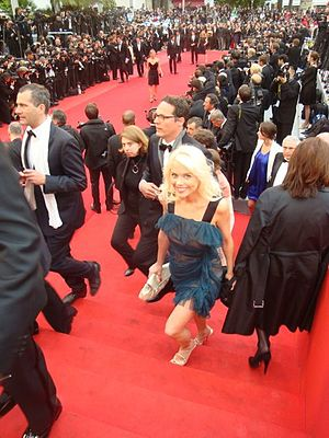 Red carpet at the 2012 Cannes Film Festival