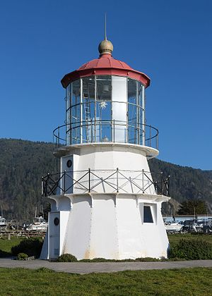 Cape Mendocino Light - Cape Mendocino Light in Shelter Cove, 2016