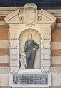 Capitole de Toulouse - Cour Henri IV - Henri IV par Thomas Hurtamat 1607.jpg