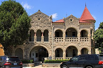 Kerrville, Texas - The Capt. Charles Schreiner Mansion Historic Site and Education Center in downtown Kerrville was originally the home of Charles Schreiner, a rancher, businessman, banker, philanthropist, and captain of the Kerr County Home Guard.