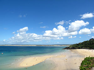 Carbis Bay - Carbis Bay from St. Ives