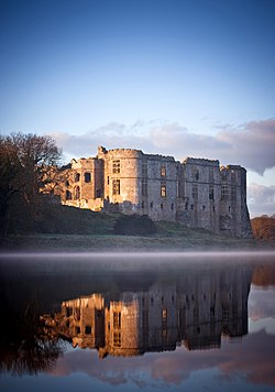 Carew Castle, Pembrokeshire, UK.jpg