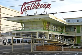 Wildwood, New Jersey - The Caribbean Motel