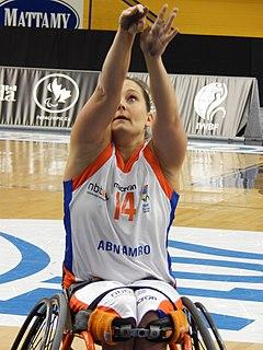 Carina de Rooij-Versloot Dutch wheelchair basketball player