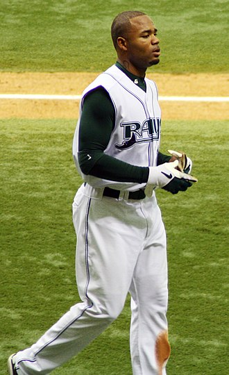 Carl Crawford - Crawford going back to the dugout in 2006
