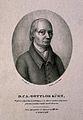 Carl Gottlob Kuehn. Lithograph by F. A. von Fielitz after Th Wellcome V0003278.jpg