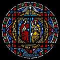 Carl Huneke's stained glass window - The Holy Trinity - St. Jarlath Catholic Church in Oakland, CA.jpg