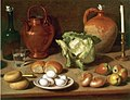 Carlo Magini - Still Life with Eggs, Cabbage and Candlestick.jpg