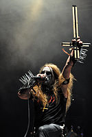 "Carpathian Forest, Roger ""Nattefrost"" Rasmussen at Party.San Metal Open Air 2013 05.jpg"