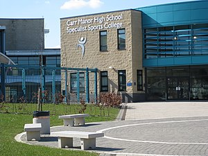 Carr Manor Community School - Image: Carr Manor H Sch 09
