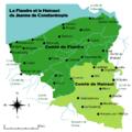 Carte des comtés de Flandre et de Hainaut sous la comtesse Jeanne de Constantinople (1200-1244).png