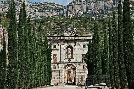 Cartoixa d'escaladei-2012 (2) - Supuesto origen del manjar blanco en Cataluña