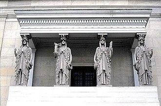 Caryatid - St. Gaudens' caryatids