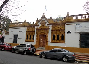 Museo Casa de Rogelio Yrurtia - The entrance of the museum.