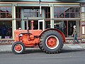 Case Tractor at Gazebo.JPG