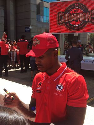 Casey Prather - Prather in March 2017, at the Wildcats' championship ceremony