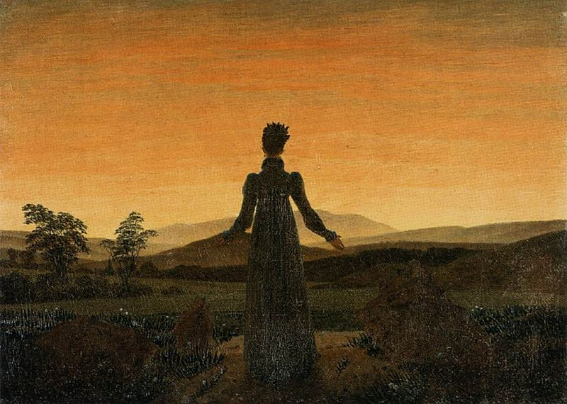 File:Caspar David Friedrich - Woman before the Rising Sun (Woman before the Setting Sun) - WGA08253.jpg
