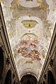 Castelfiorentino, s. verdiana, int., volta di alessandro gherardini, 1708, 01.JPG