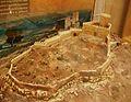 Castell de Barxell, Alcoi, visió aproximada de la fortificació cap a l'any 1325, Museu Arqueològic Muncipal d'Alcoi.JPG