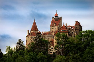 History of Romania - Bran Castle built in 1212, is commonly known as Dracula's Castle and is situated in the centre of present-day Romania. In addition to its unique architecture, the castle is famous because of persistent myths that it was once the home of Vlad III Dracula.