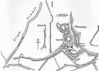 Blackdown Hills - Earthworks at Castle Neroche