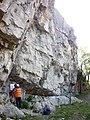 Castlebergh Crag, Settle - geograph.org.uk - 1845046.jpg